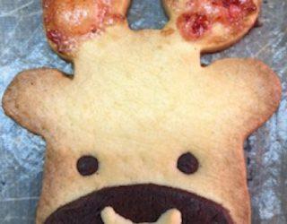 めるぎゅーくんクッキー