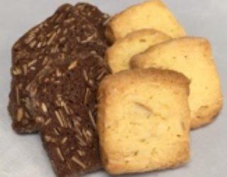 サブレクッキー(ココア、プレーン)